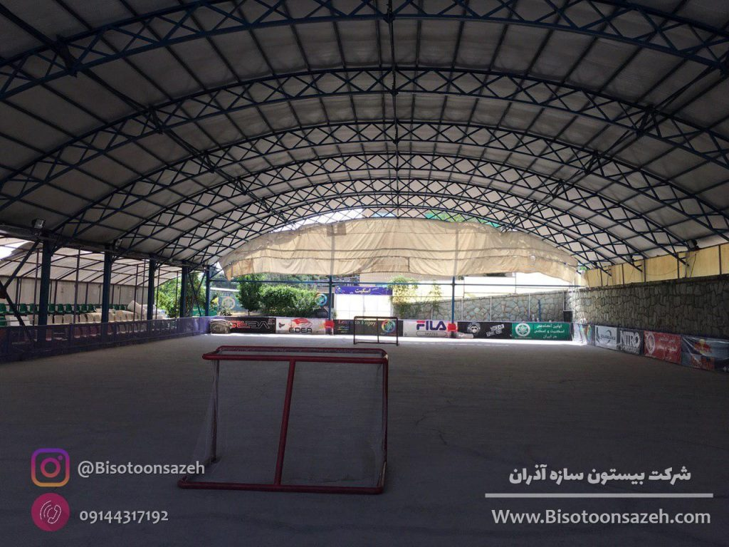industrial shed 10 1024x768 - گالری پروژه های نصب شده سوله سبک | سوله سبک بیستون