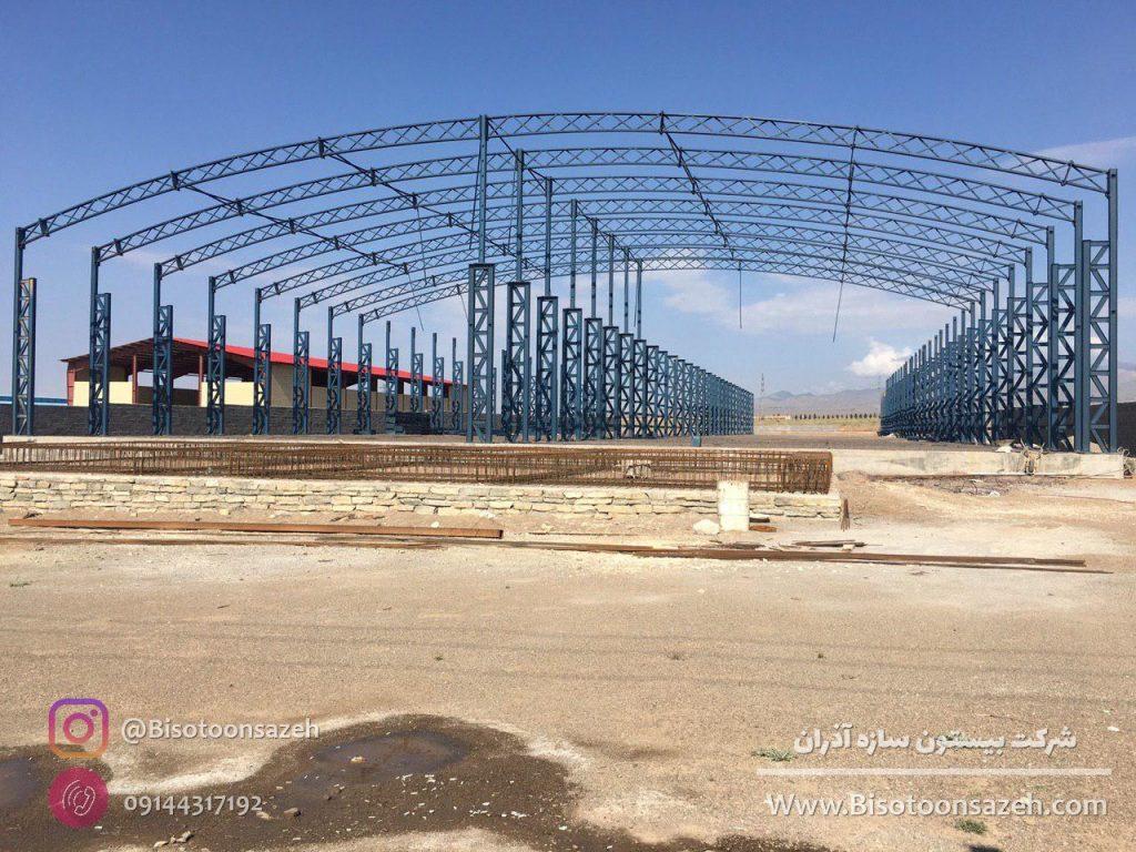 industrial shed 12 1024x768 - گالری پروژه های نصب شده سوله سبک | سوله سبک بیستون