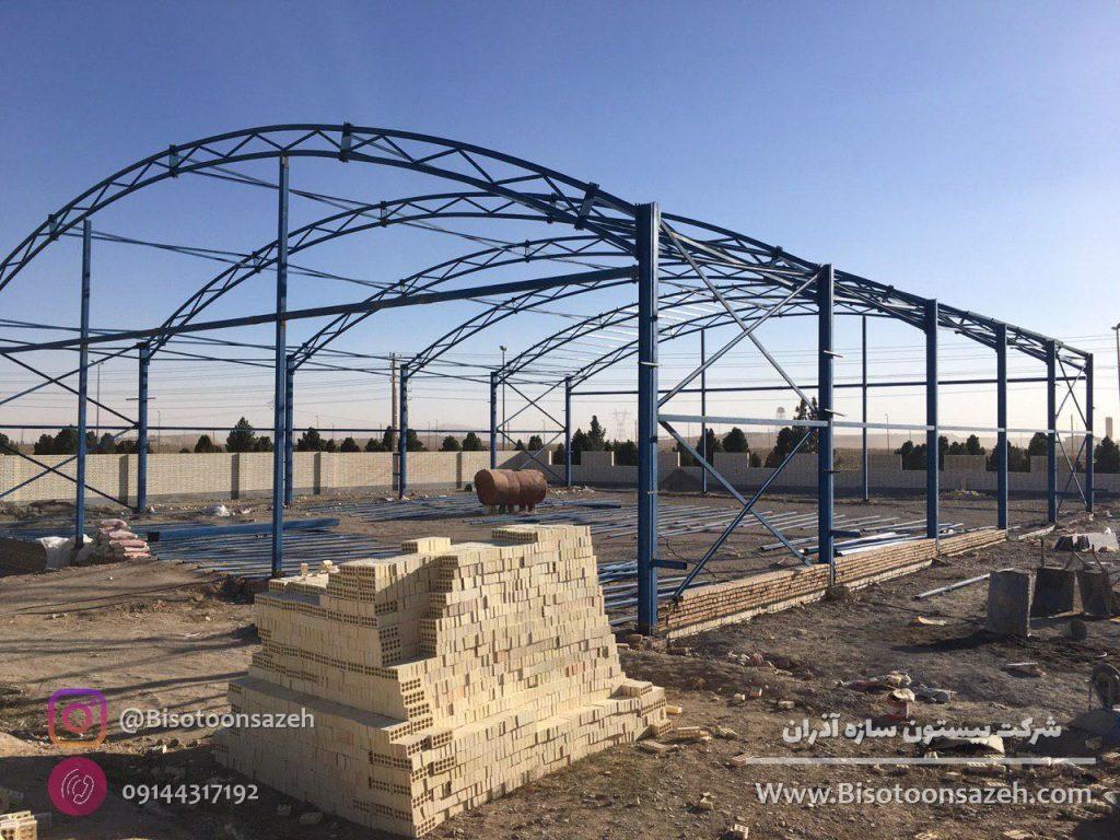 industrial shed 16 1024x768 - گالری پروژه های نصب شده سوله سبک | سوله سبک بیستون