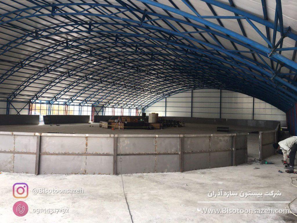 industrial shed 17 1024x768 - گالری پروژه های نصب شده سوله سبک | سوله سبک بیستون