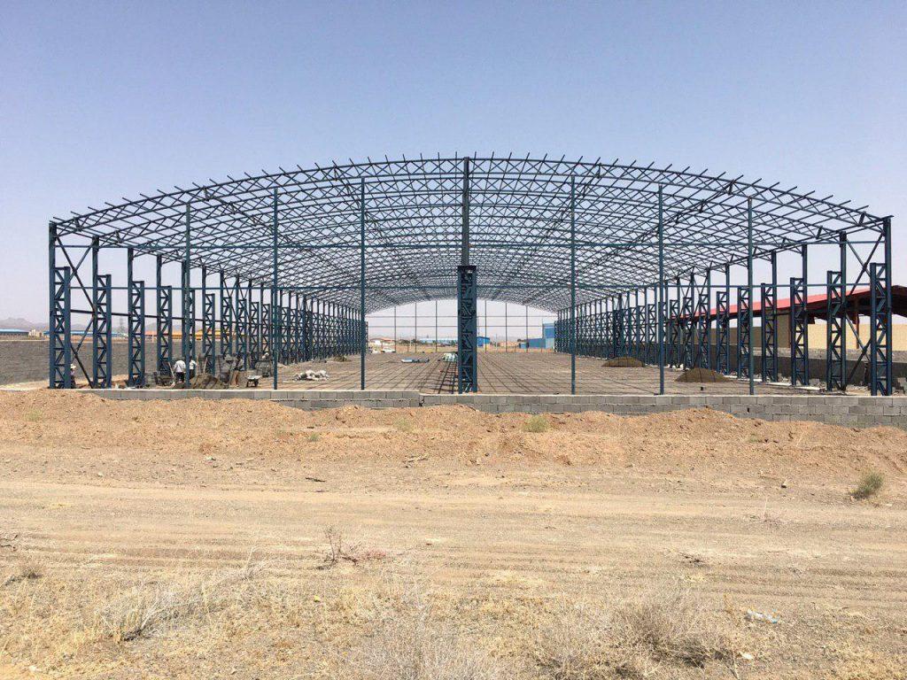 industrial shed 18 1024x768 - پروژه های اجرایی سوله توسط شرکت | سوله سبک بیستون