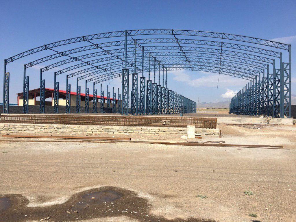 industrial shed 19 1024x768 - پروژه های اجرایی سوله توسط شرکت | سوله سبک بیستون