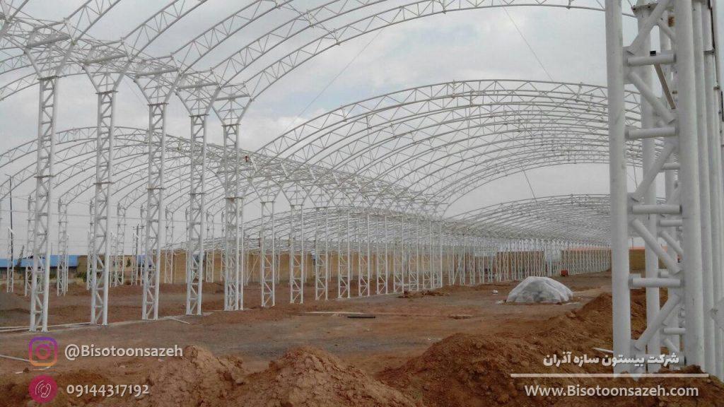 industrial shed 2 1024x576 - گالری پروژه های نصب شده سوله سبک | سوله سبک بیستون