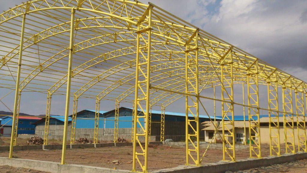 industrial shed 25 1024x576 - پروژه های اجرایی سوله توسط شرکت | سوله سبک بیستون