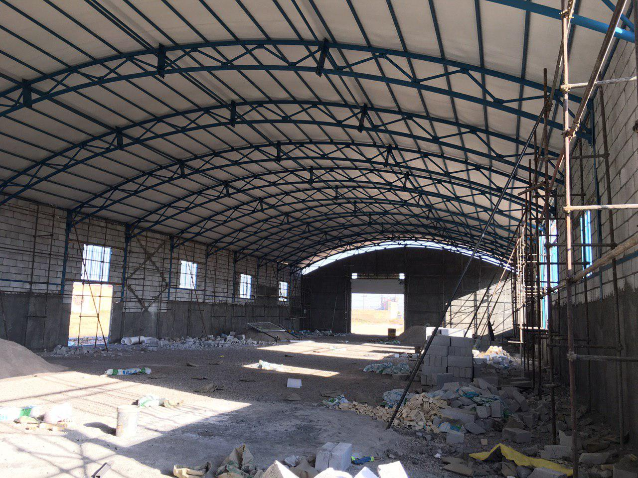 industrial shed 28 - آشنایی کامل با سوله و انواع مختلف آن | سوله سبک بیستون