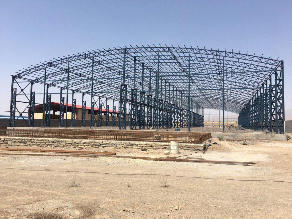 industrial shed 29 1024x768 - پروژه های اجرایی سوله توسط شرکت | سوله سبک بیستون