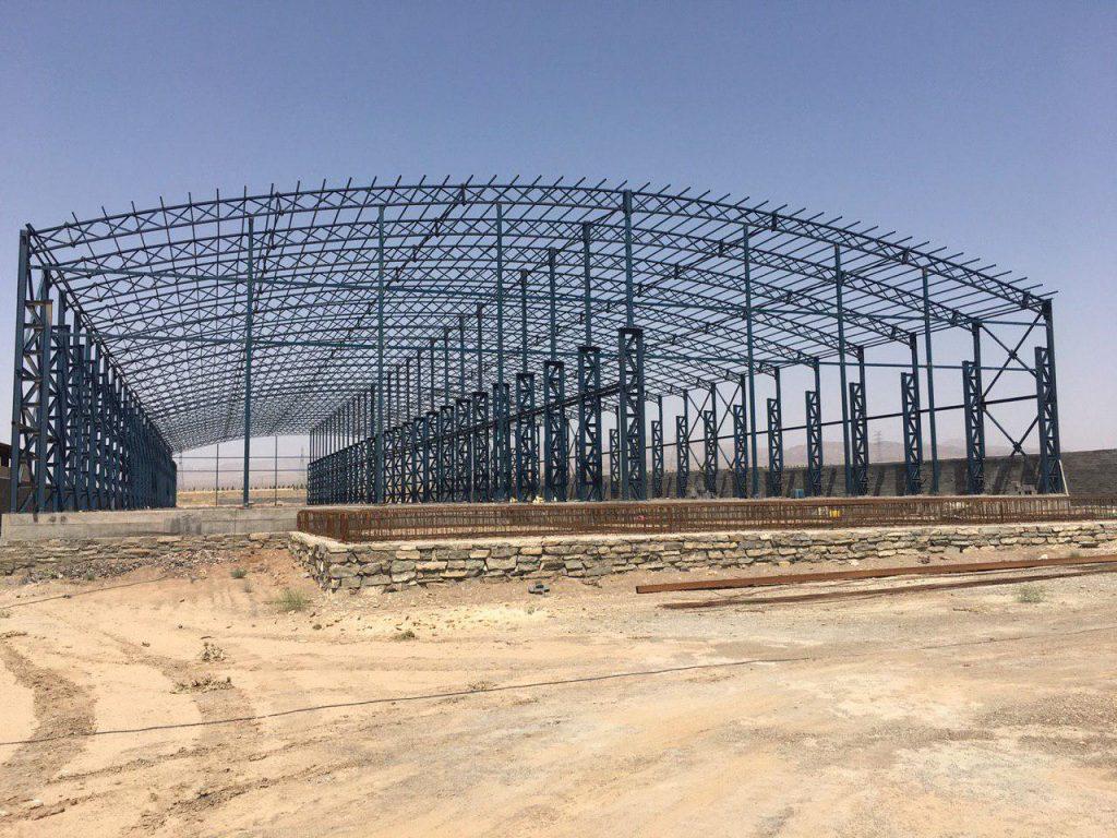 industrial shed 30 1024x768 - پروژه های اجرایی سوله توسط شرکت | سوله سبک بیستون