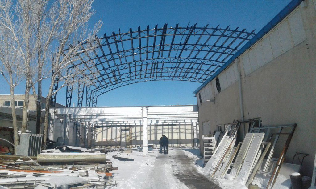 industrial shed 32 1024x614 - پروژه های اجرایی سوله توسط شرکت | سوله سبک بیستون
