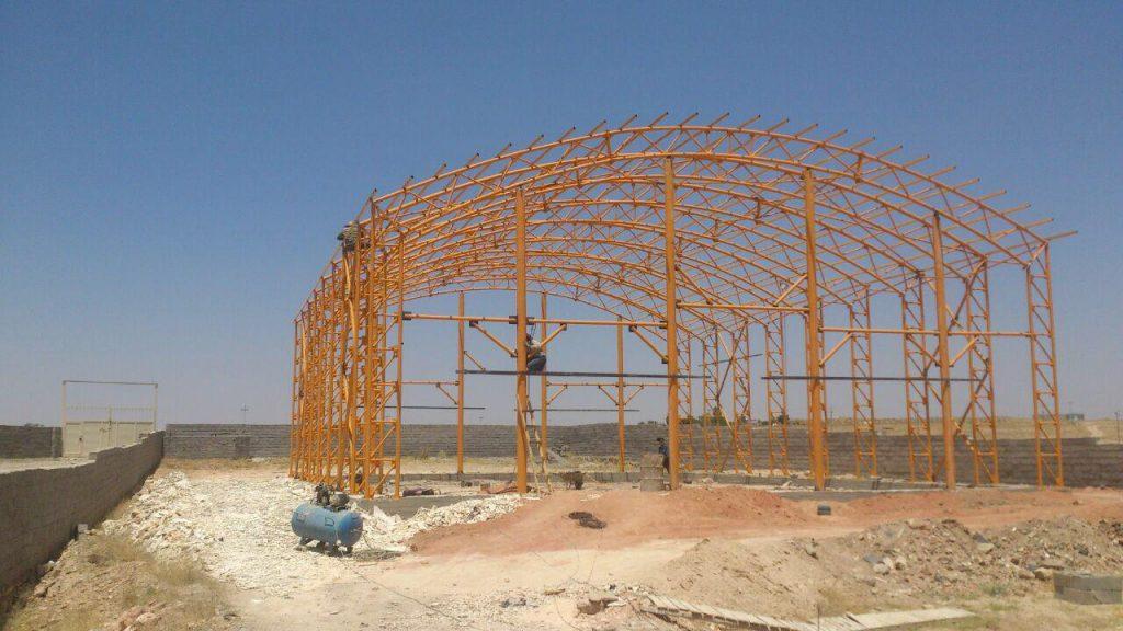 industrial shed 37 1024x576 - پروژه های اجرایی سوله توسط شرکت | سوله سبک بیستون