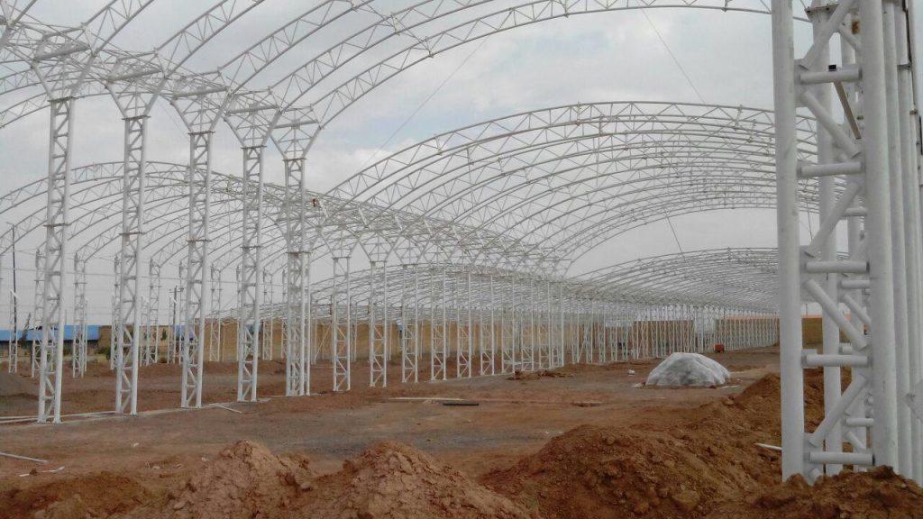 industrial shed 38 1024x576 - پروژه های اجرایی سوله توسط شرکت | سوله سبک بیستون