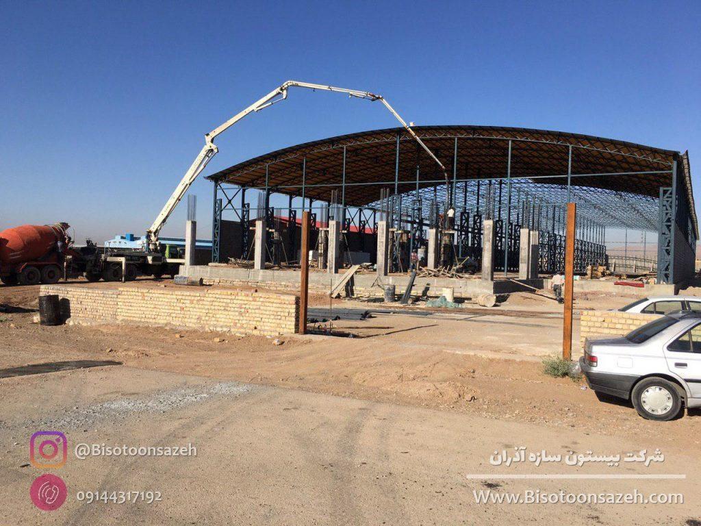 industrial shed 4 1024x768 - گالری پروژه های نصب شده سوله سبک | سوله سبک بیستون