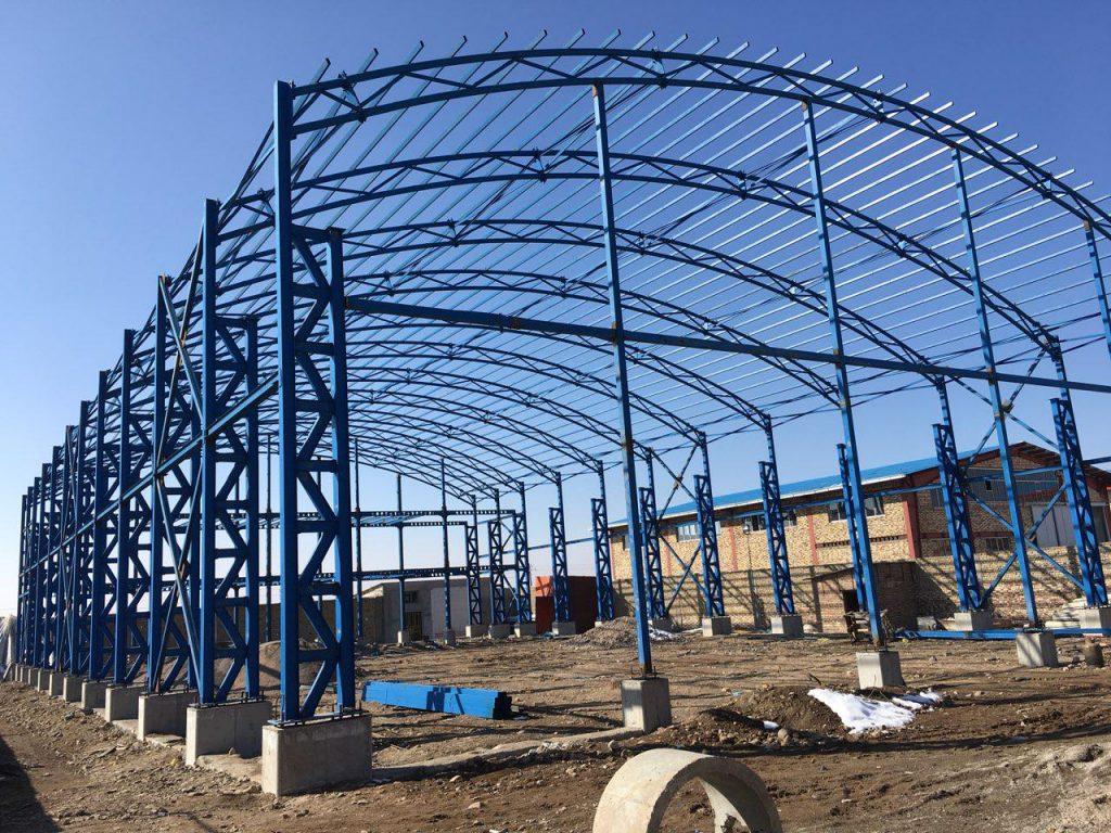 industrial shed 42 1024x768 - پروژه های اجرایی سوله توسط شرکت | سوله سبک بیستون