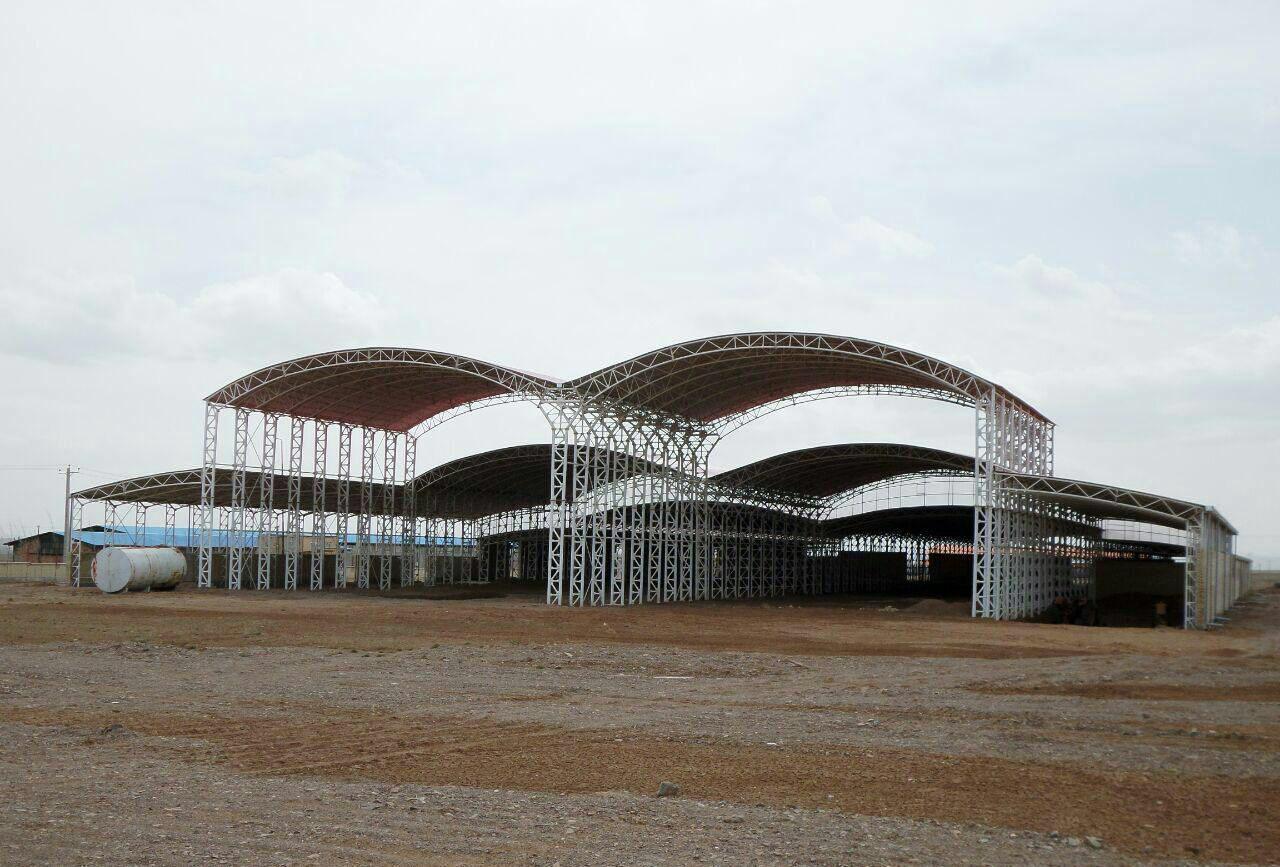 industrial shed 43 - آشنایی کامل با سوله و انواع مختلف آن | سوله سبک بیستون