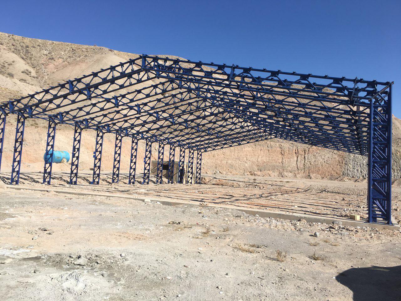 industrial shed 44 - آشنایی کامل با سوله و انواع مختلف آن | سوله سبک بیستون
