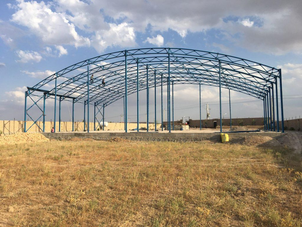 industrial shed 45 1024x768 - پروژه های اجرایی سوله توسط شرکت | سوله سبک بیستون