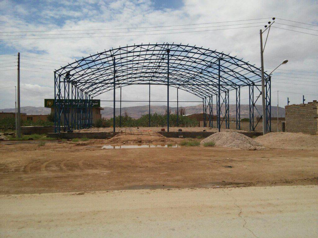 industrial shed 46 1024x768 - پروژه های اجرایی سوله توسط شرکت | سوله سبک بیستون