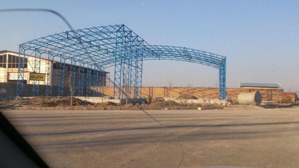 industrial shed 47 1024x576 - پروژه های اجرایی سوله توسط شرکت | سوله سبک بیستون