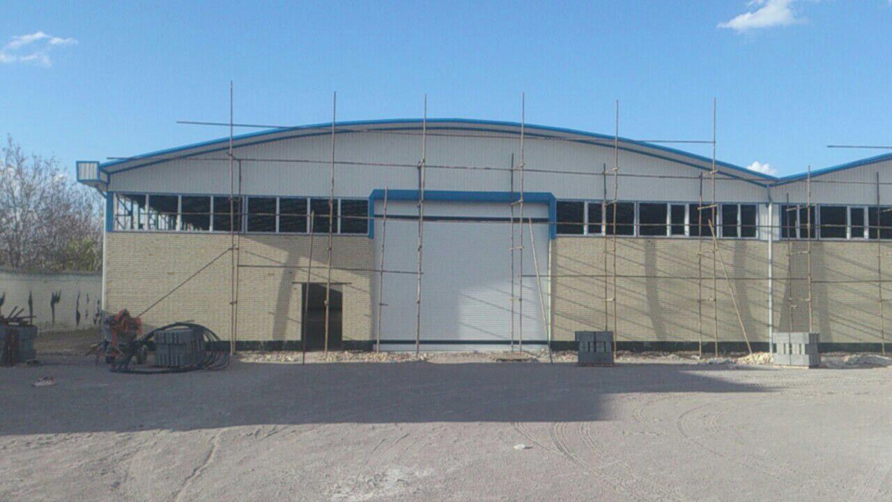 industrial shed 49 - آشنایی کامل با سوله و انواع مختلف آن | سوله سبک بیستون