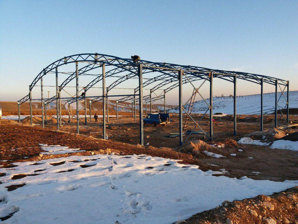 industrial shed 51 1024x768 - پروژه های اجرایی سوله توسط شرکت | سوله سبک بیستون