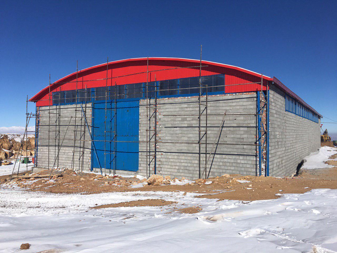 industrial shed 54 - آشنایی کامل با سوله و انواع مختلف آن | سوله سبک بیستون