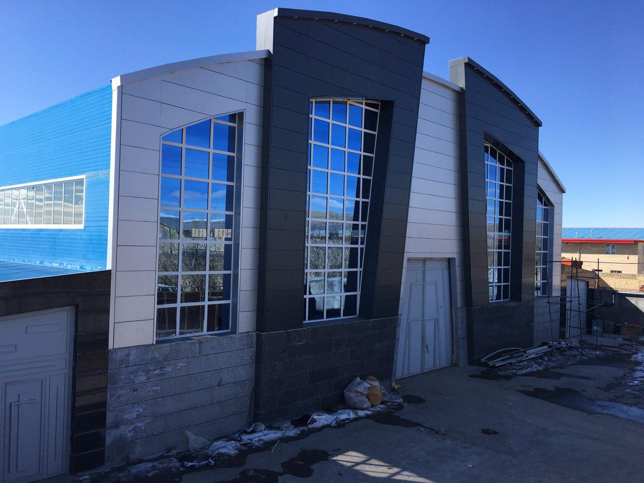 industrial shed 56 - آشنایی کامل با سوله و انواع مختلف آن | سوله سبک بیستون