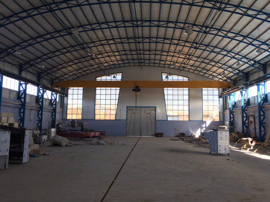 industrial shed 58 1024x768 - پروژه های اجرایی سوله توسط شرکت | سوله سبک بیستون