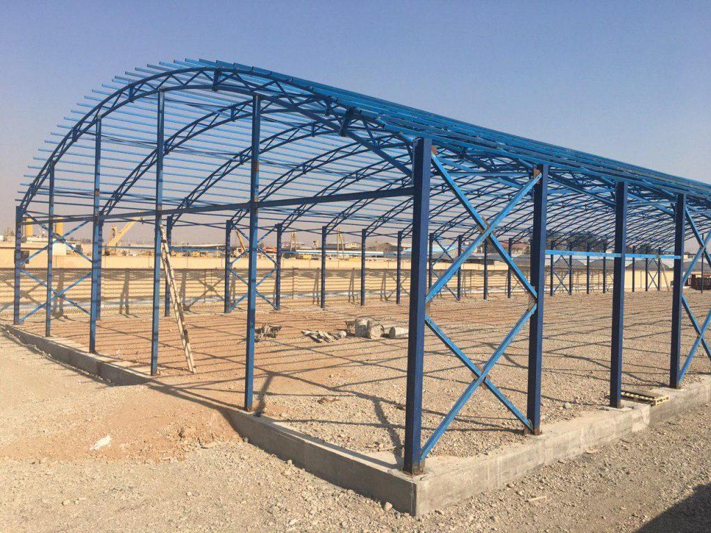industrial shed 59 1024x768 - پروژه های اجرایی سوله توسط شرکت | سوله سبک بیستون