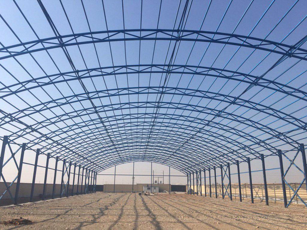 industrial shed 60 1024x768 - پروژه های اجرایی سوله توسط شرکت | سوله سبک بیستون