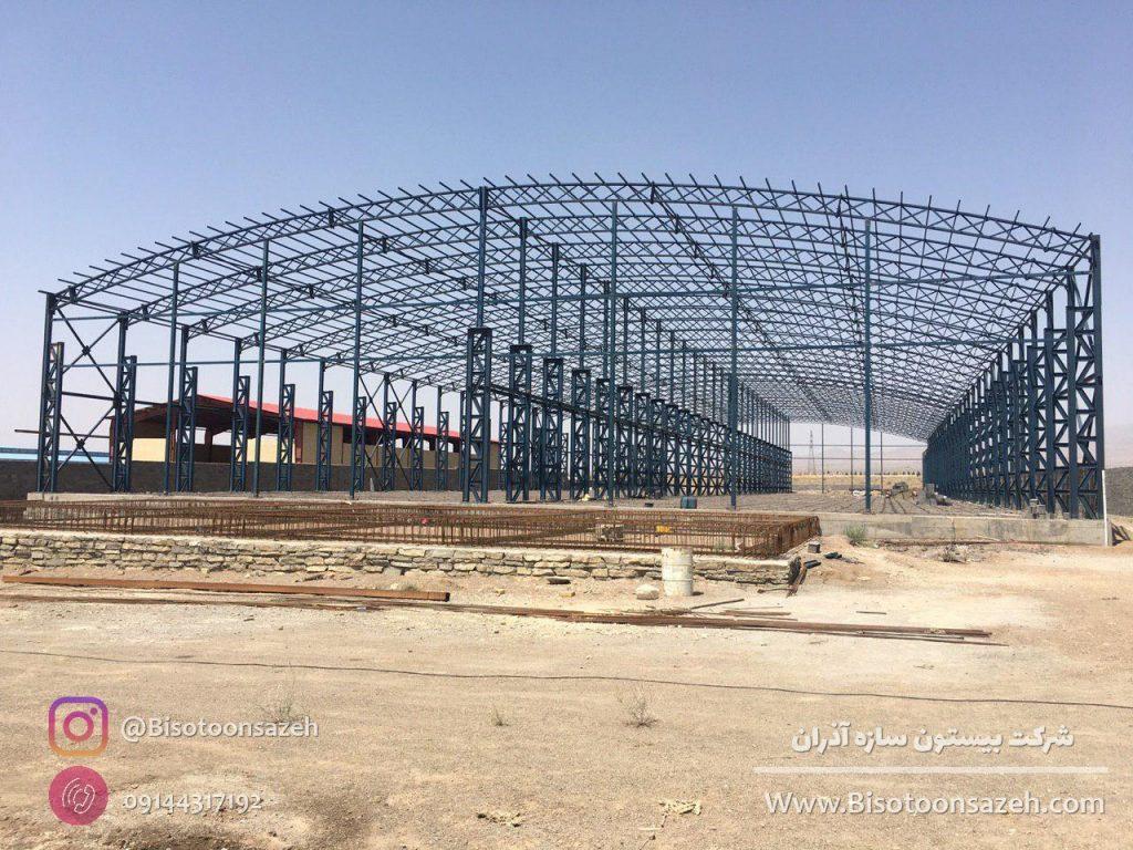 industrial shed 7 1024x768 - گالری پروژه های نصب شده سوله سبک | سوله سبک بیستون