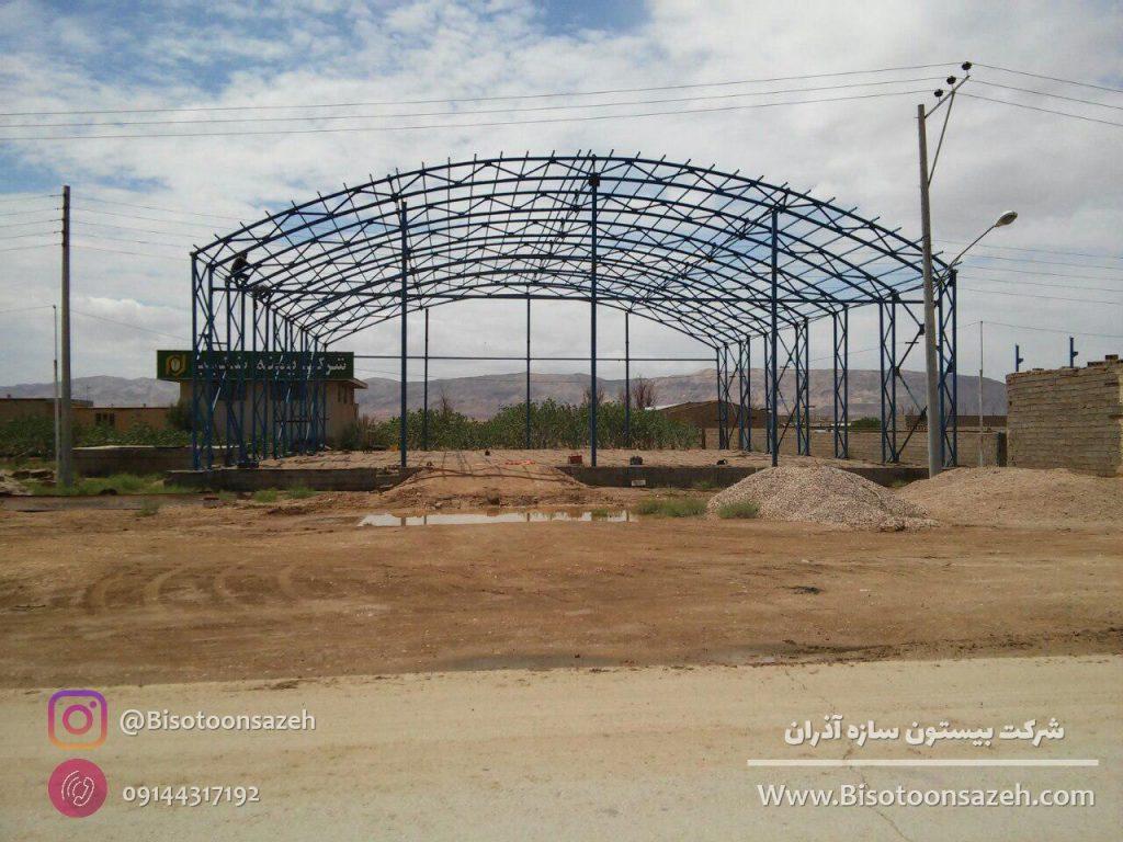 industrial shed 9 1024x768 - گالری پروژه های نصب شده سوله سبک | سوله سبک بیستون