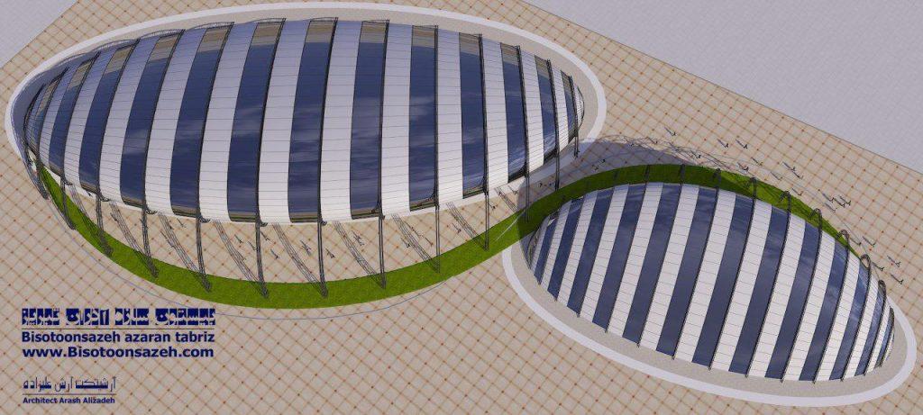 insutarial shed 3d 11 1024x461 - طرح های اختصاصی سه بعدی سوله | سوله سبک بیستون