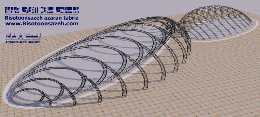 insutarial shed 3d 12 1024x461 - طرح های اختصاصی سه بعدی سوله | سوله سبک بیستون