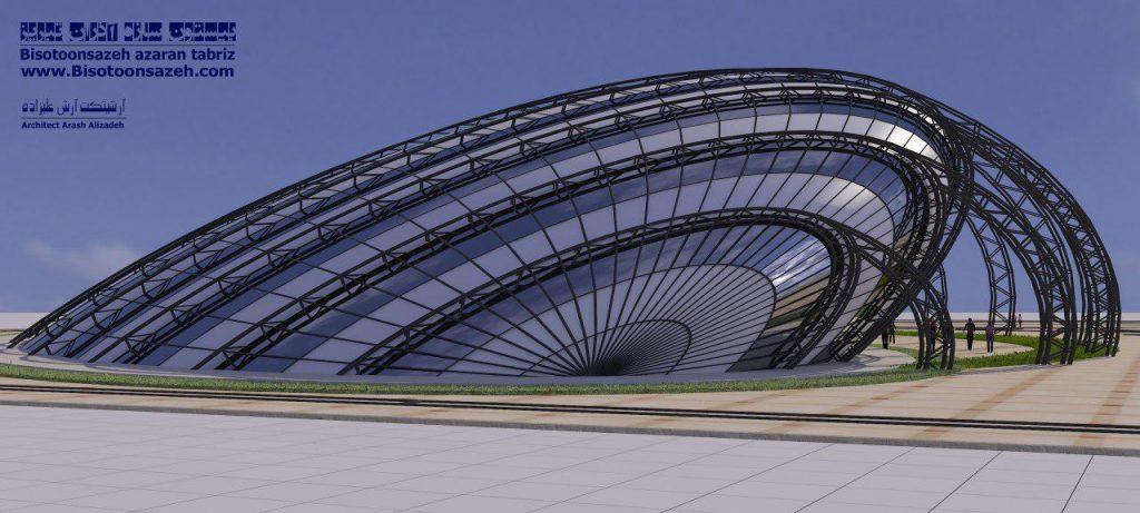 insutarial shed 3d 15 1024x461 - طرح های اختصاصی سه بعدی سوله | سوله سبک بیستون