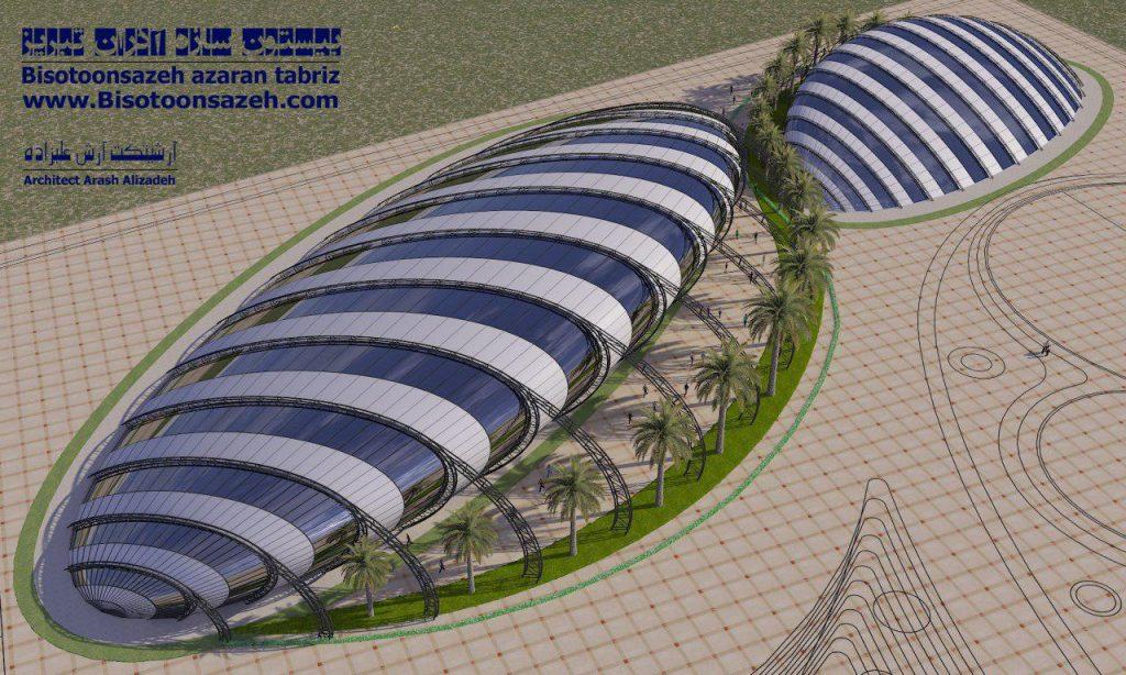 insutarial shed 3d 16 1024x614 - طرح های اختصاصی سه بعدی سوله | سوله سبک بیستون