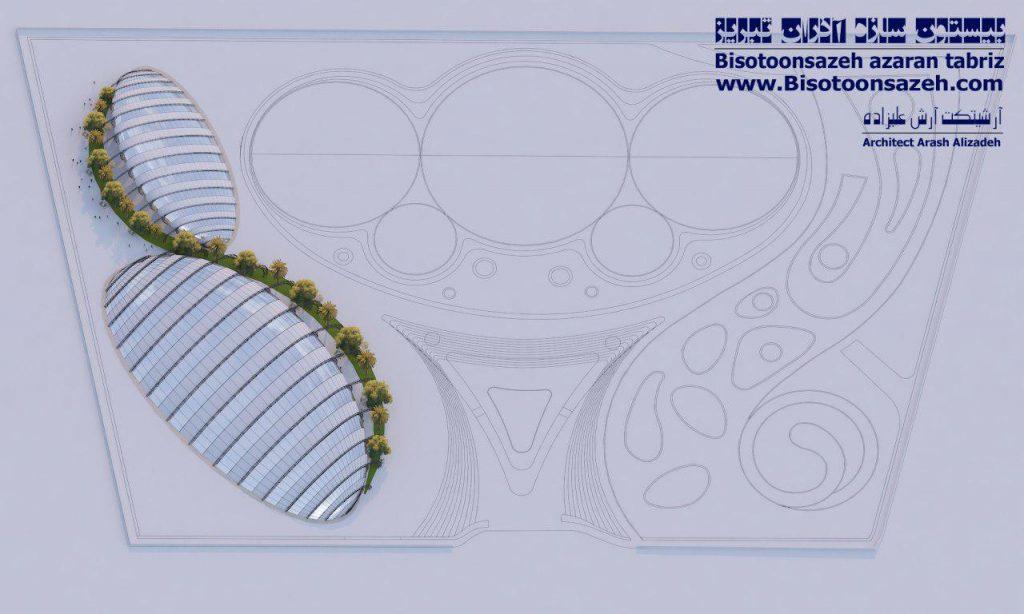 insutarial shed 3d 18 1024x614 - طرح های اختصاصی سه بعدی سوله | سوله سبک بیستون