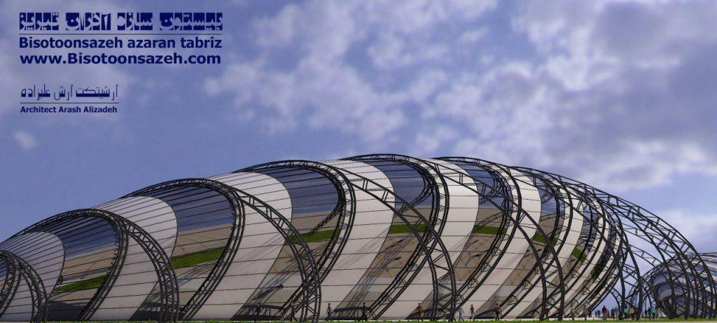insutarial shed 3d 2 1024x461 - طرح های اختصاصی سه بعدی سوله | سوله سبک بیستون