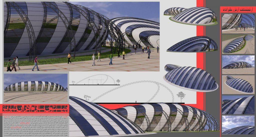 insutarial shed 3d 20 1024x551 - طرح های اختصاصی سه بعدی سوله | سوله سبک بیستون