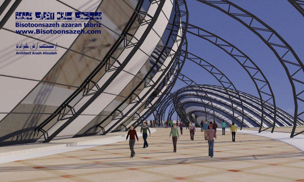 insutarial shed 3d 4 1024x614 - طرح های اختصاصی سه بعدی سوله | سوله سبک بیستون