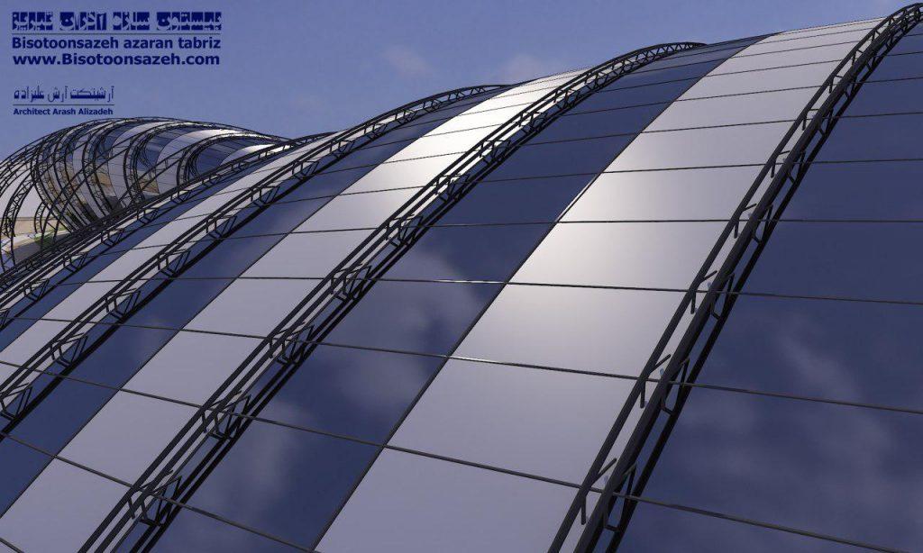 insutarial shed 3d 5 1024x614 - طرح های اختصاصی سه بعدی سوله | سوله سبک بیستون