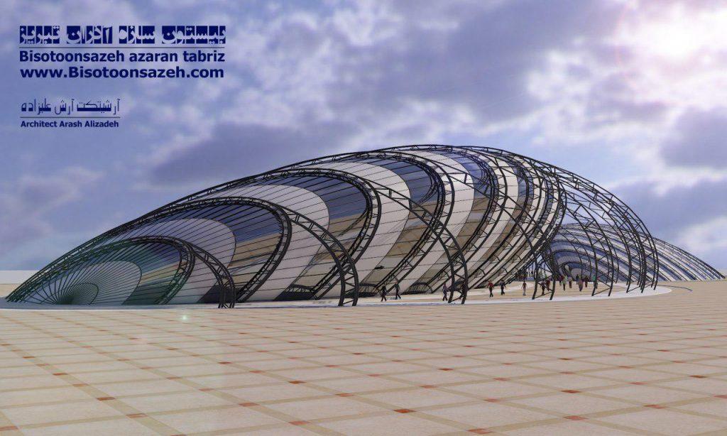insutarial shed 3d 6 1024x614 - طرح های اختصاصی سه بعدی سوله | سوله سبک بیستون