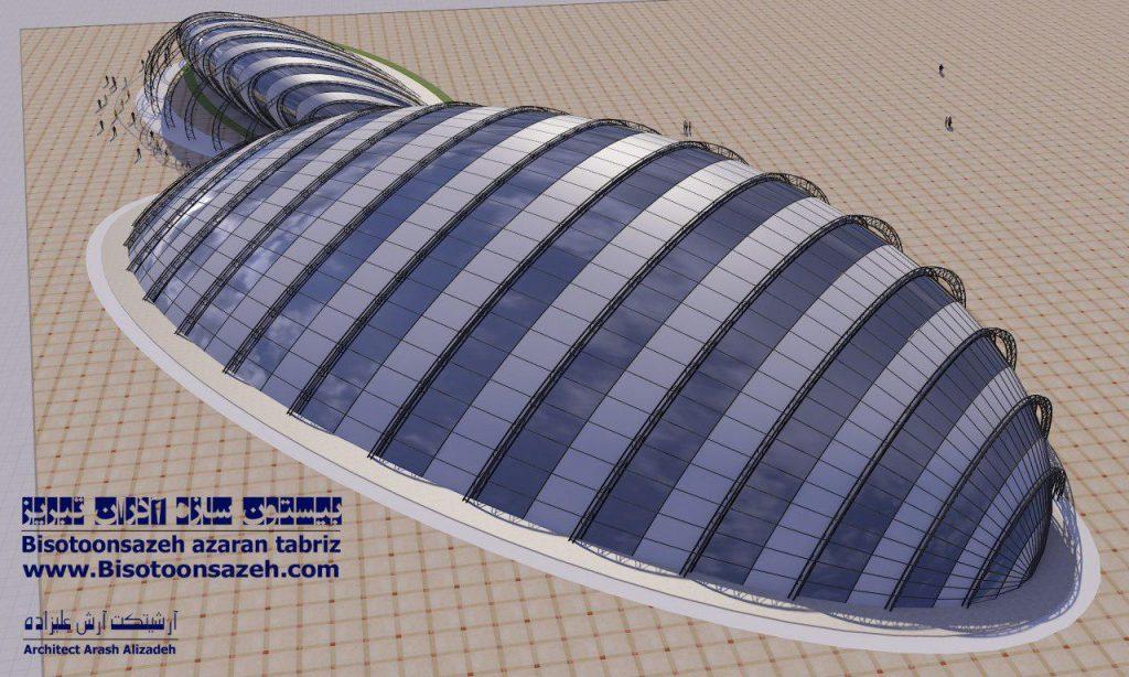 insutarial shed 3d 7 1024x614 - طرح های اختصاصی سه بعدی سوله | سوله سبک بیستون