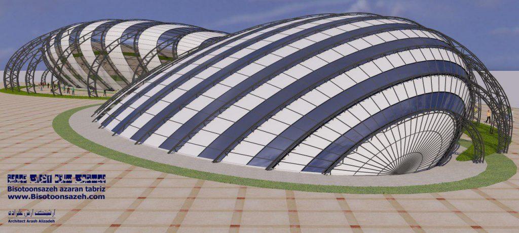 insutarial shed 3d 8 1024x461 - طرح های اختصاصی سه بعدی سوله | سوله سبک بیستون